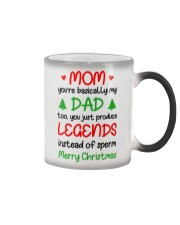 Legends Instead Of Sperm Xmas Color Changing Mug thumbnail