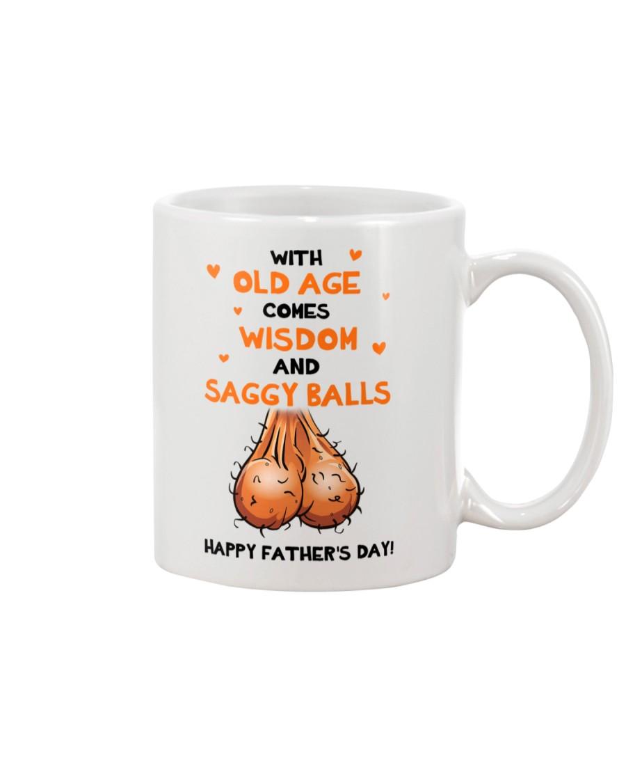 Old Age Comes Saggy Balls Mug
