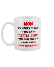 Made You Say Little Cunt  Mug back