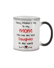 Mom Has Bets Daughter Color Changing Mug thumbnail