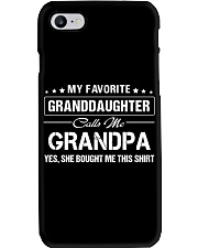 Favourite Granddaughter Calls Me Grandpa Bought Phone Case thumbnail
