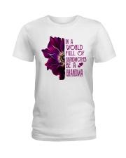 Be A Grandma Ladies T-Shirt front