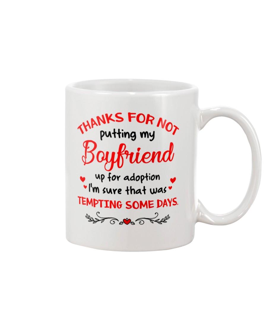 Put Up For Adoption Mug