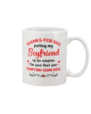 Put Up For Adoption Mug front