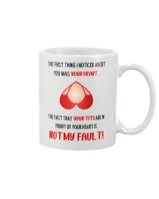 The First Thing I Noticed About You Mug front