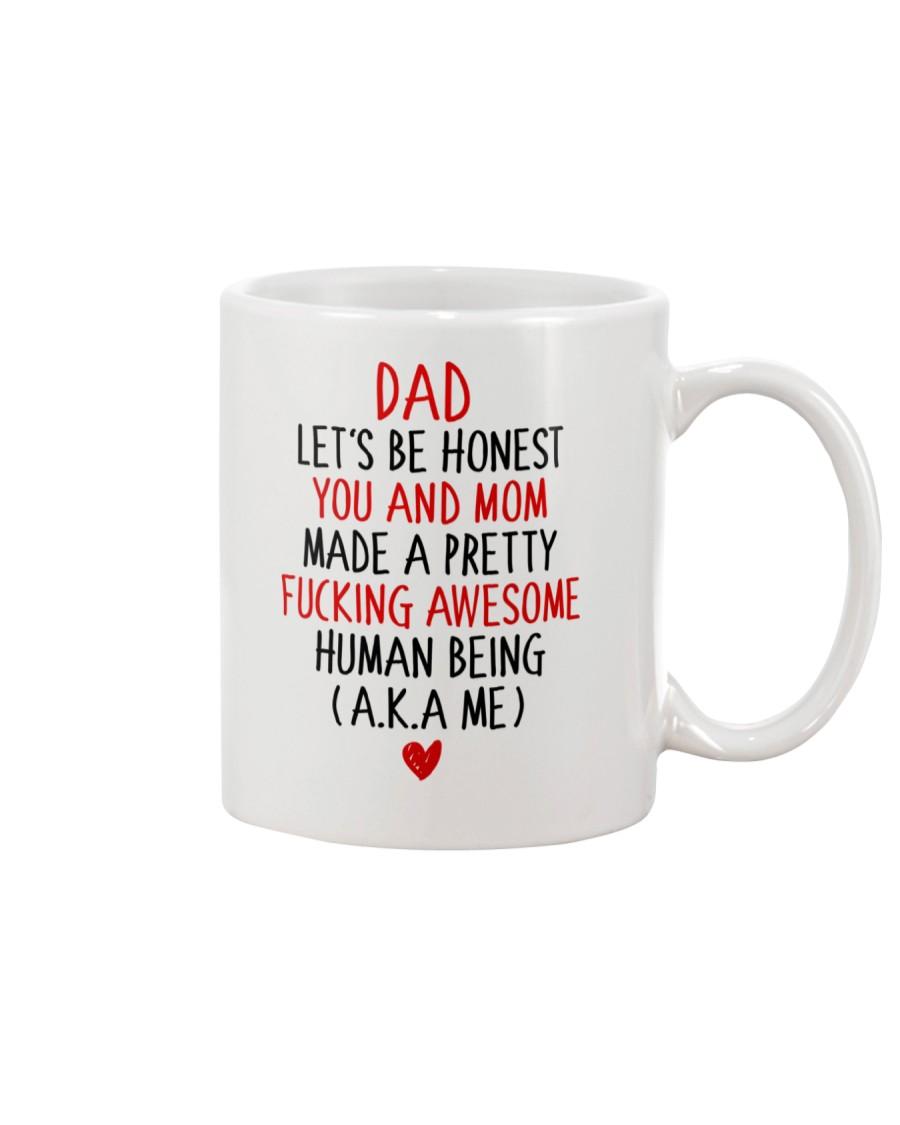 Let's Be Honest Dad Mug