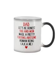 Let's Be Honest Dad Color Changing Mug thumbnail