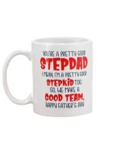 Pretty Good Stepdad Mug back