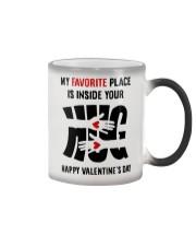 Favorite Place Is Inside Your Hug Color Changing Mug thumbnail