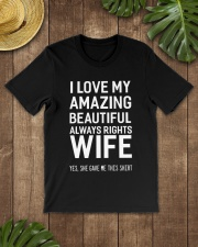 Love always rights wife Premium Fit Mens Tee lifestyle-mens-crewneck-front-18