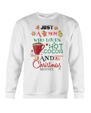 Just a mom loves baking  Crewneck Sweatshirt thumbnail