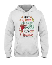 Just a mom loves baking  Hooded Sweatshirt thumbnail