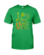 Dog Love Patrick Day  Classic T-Shirt front