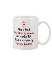 Dad Likes To Swear Mug front