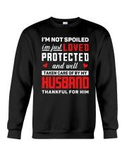 Not Spoiled Thankful Crewneck Sweatshirt thumbnail
