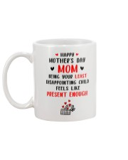 Least Disappointing Child Mug back