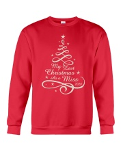 Last Christmas As Miss Crewneck Sweatshirt front
