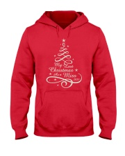 Last Christmas As Miss Hooded Sweatshirt thumbnail