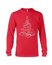 Last Christmas As Miss Long Sleeve Tee thumbnail