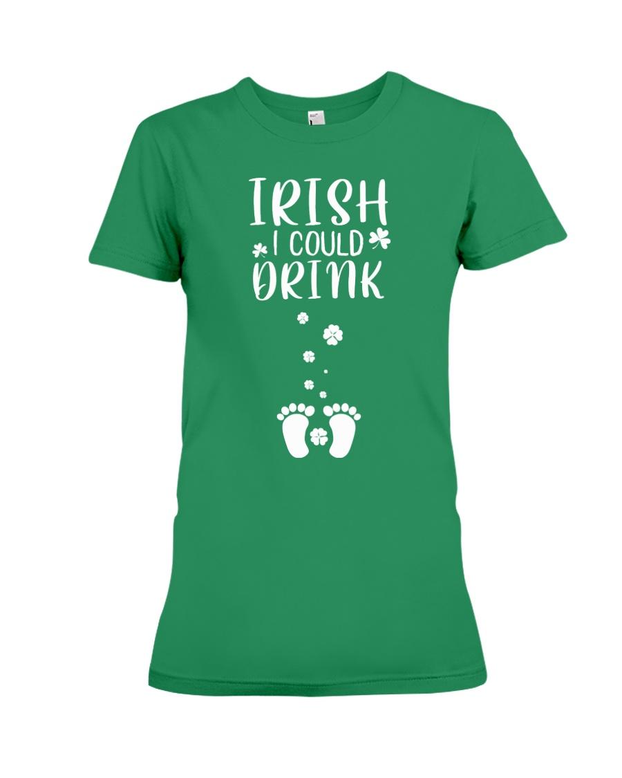 Irish Could Drinking Premium Fit Ladies Tee