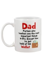 Dad Get Hold Of His Wallet Christmas Mug back