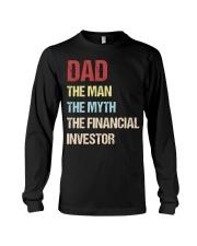 Dad Man Myth Financial Invester Long Sleeve Tee thumbnail