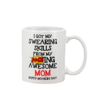 Swearing Skills From Awesome Mom Mug front