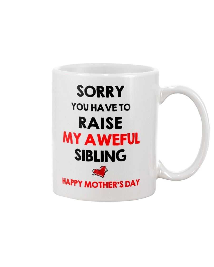 Raise Aweful Sibling Mug