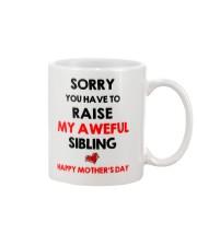 Raise Aweful Sibling Mug front