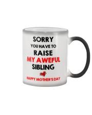 Raise Aweful Sibling Color Changing Mug thumbnail