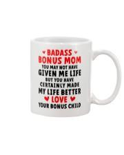 Badass Bonus Mom Mug front