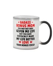 Badass Bonus Mom Color Changing Mug thumbnail
