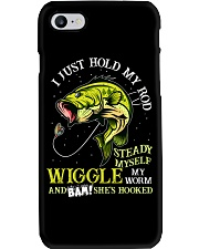 Hold Rod And Wiggle Worm Phone Case thumbnail