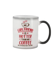 Girlfriend Hotter Than Coffee Bought Color Changing Mug thumbnail