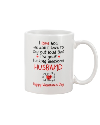 Say Out Loud Awesome Husband
