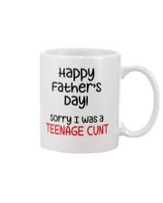 Sorry Teanage Cunt Mug front
