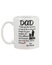 Different Dad Mug back