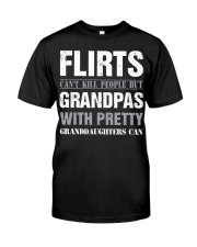 Grandpas With Pretty Granddaughters Classic T-Shirt thumbnail