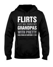 Grandpas With Pretty Granddaughters Hooded Sweatshirt thumbnail
