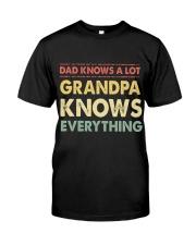 Grandpa Knows Everything Classic T-Shirt thumbnail
