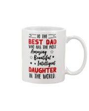To The Best Dad Mug front