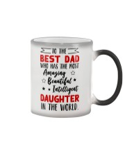 To The Best Dad Color Changing Mug thumbnail
