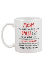 Mom Haves Balls Mug back
