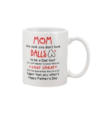 Mom Haves Balls Mug front