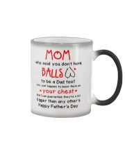 Mom Haves Balls Color Changing Mug thumbnail