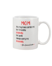 Always Carry Me Financially Mug front