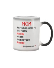 Always Carry Me Financially Color Changing Mug thumbnail