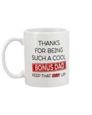 Bonus Dad Mug back