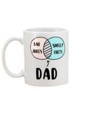 Dad Jokes Smelly Fart Mug back