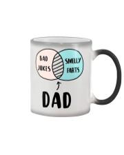 Dad Jokes Smelly Fart Color Changing Mug thumbnail